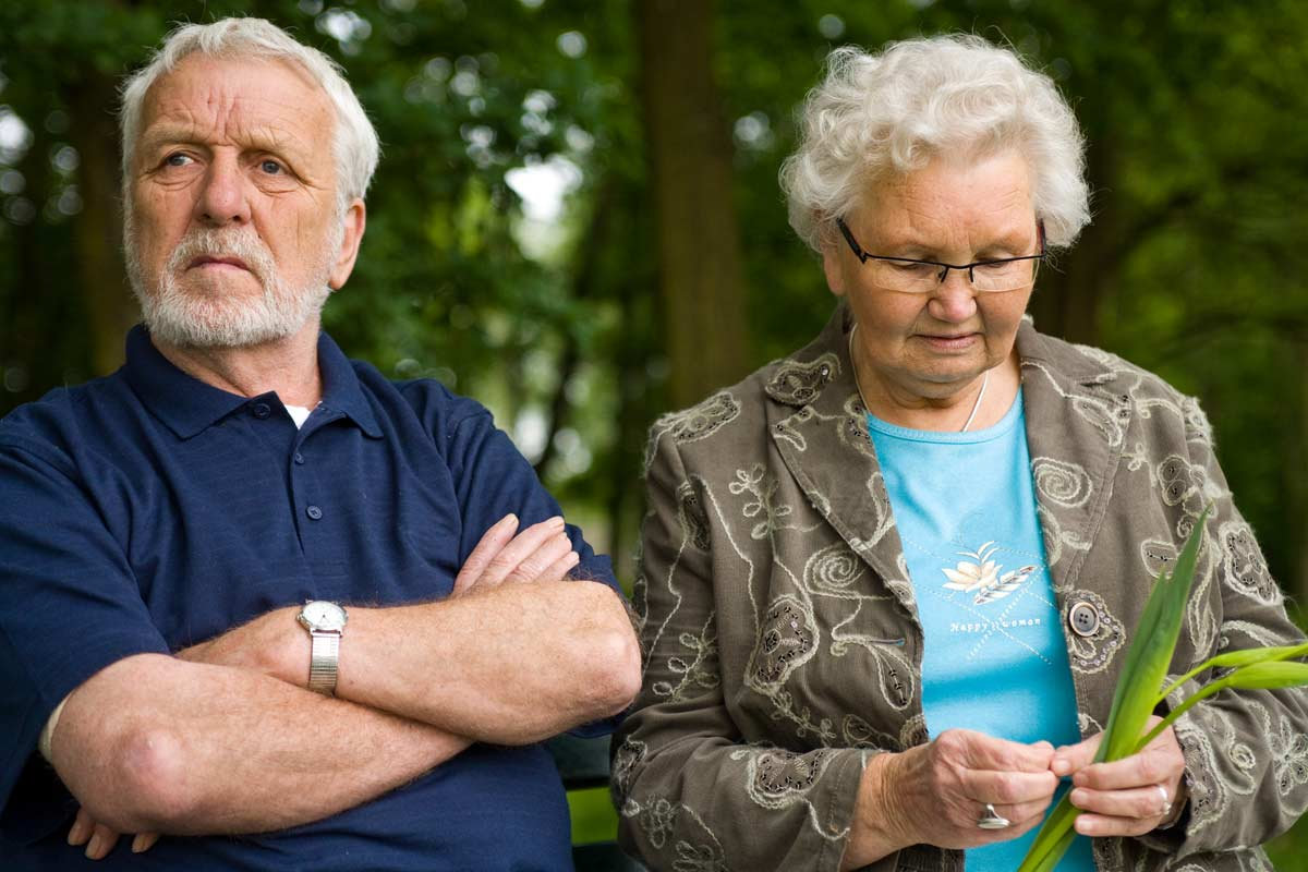 old couple - God's Transforming Grace