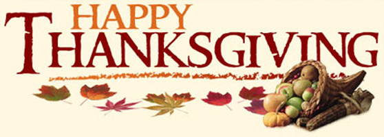 Happy Thanksgiving - God's Transforming Grace