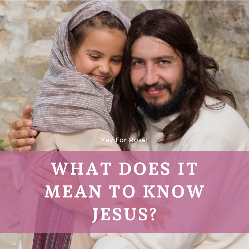Knowing Jesus - God's Transforming Grace