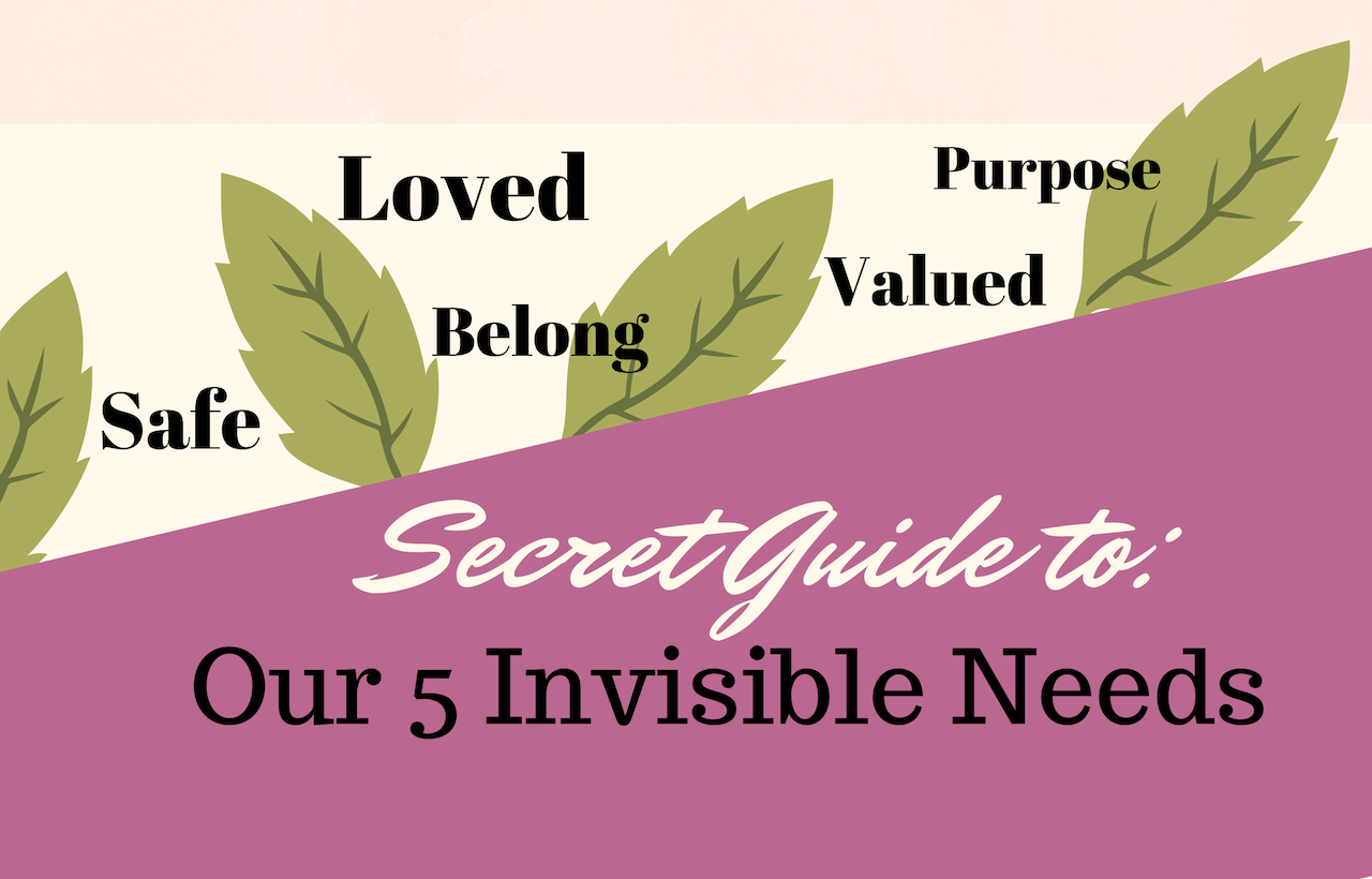 A Copy of Secret Guide 5 invisible ultimate needs (1) - God's